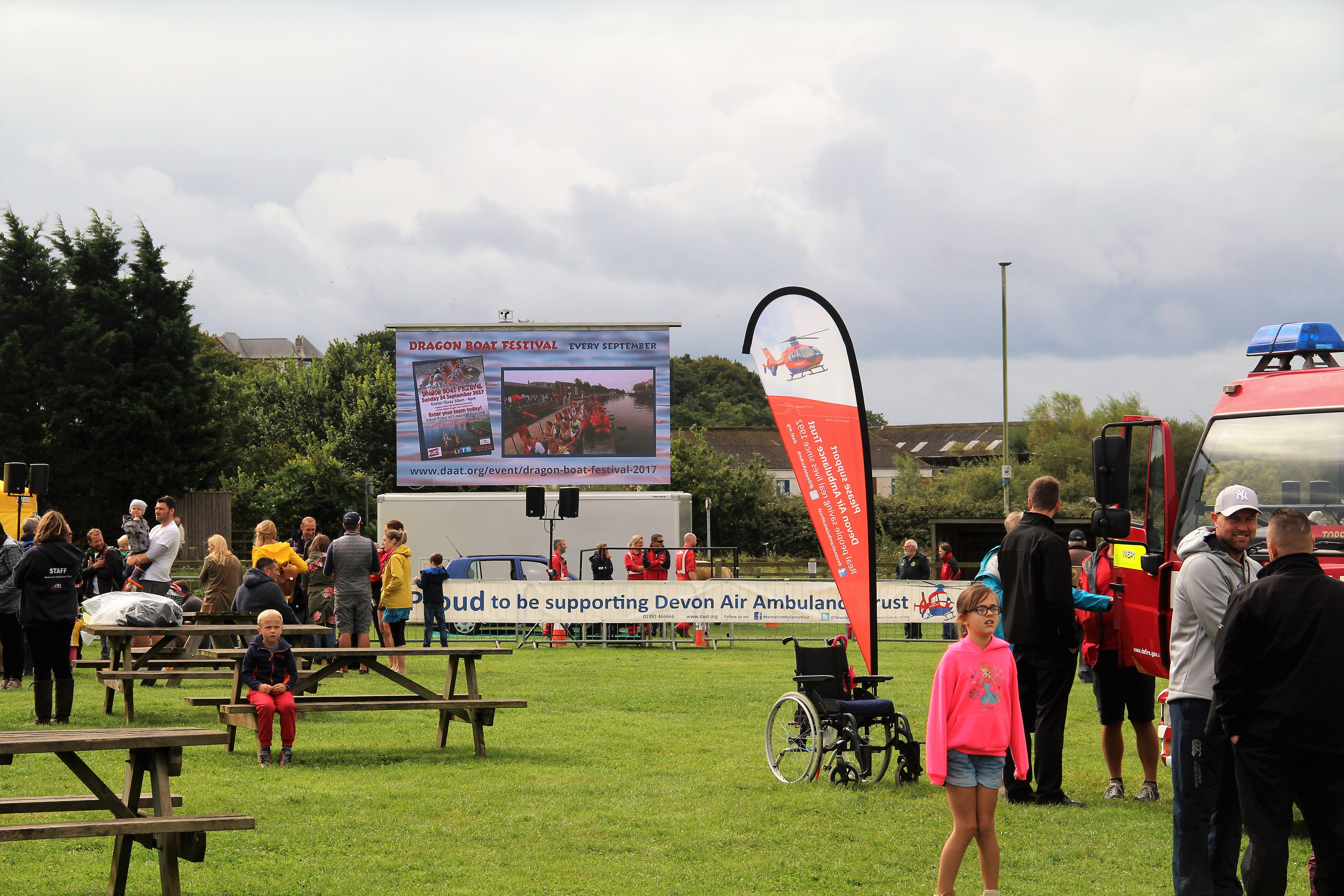 LED screen outdoor event