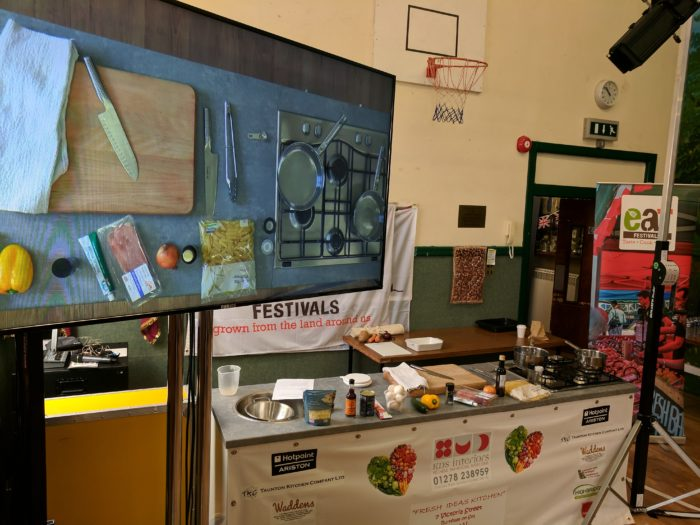 food festival audio visuals