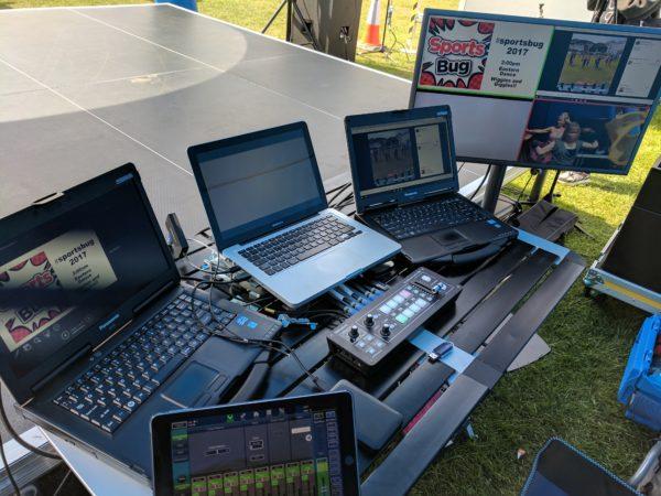 outdoor event sound